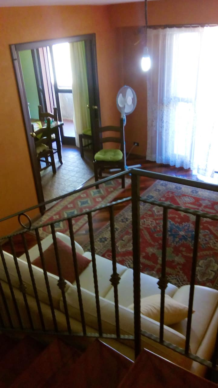 House with 2 bedrooms in Realmonte, with balcony - 3 km from the beach