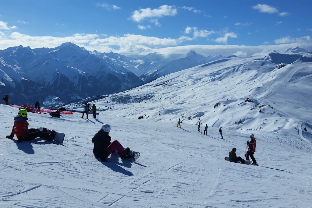 Skigebiet Lumnezia/Obersaxen