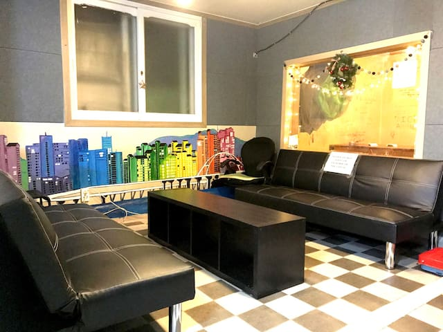 Cost-Effective 4-Bed Mixed Dorm in Yeonnam-dong