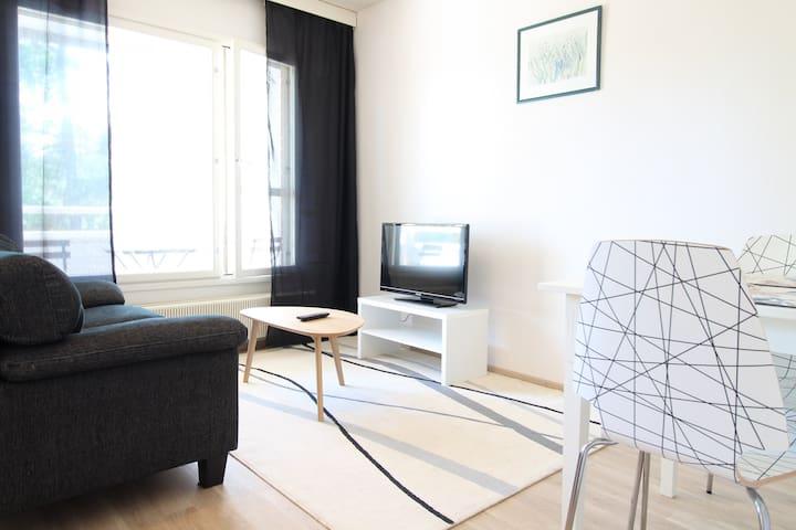 One bedroom apartment in Hamina, Ilveskalliontie 2 B