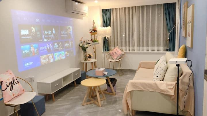 现代轻奢loft/温馨复式两房/深圳北站/红山地铁站