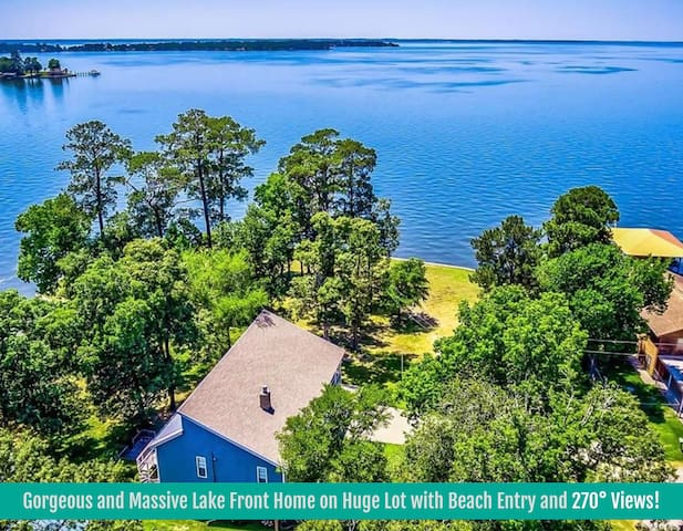Over-sized Lakefront House w/ Breathtaking Views!