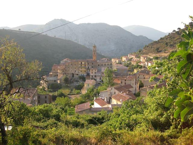 T3 dans village du centre Corse - Omessa - Lejlighed