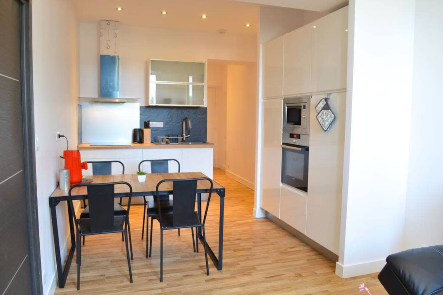 New and modern 2 bed