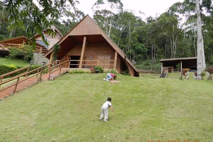 Chalé nas Montanhas capixabas - Domingos Martins - Stuga