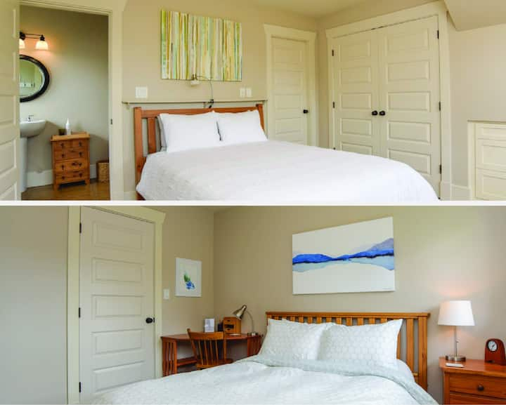 Two Guest Rooms ~ Charming Downtown Home