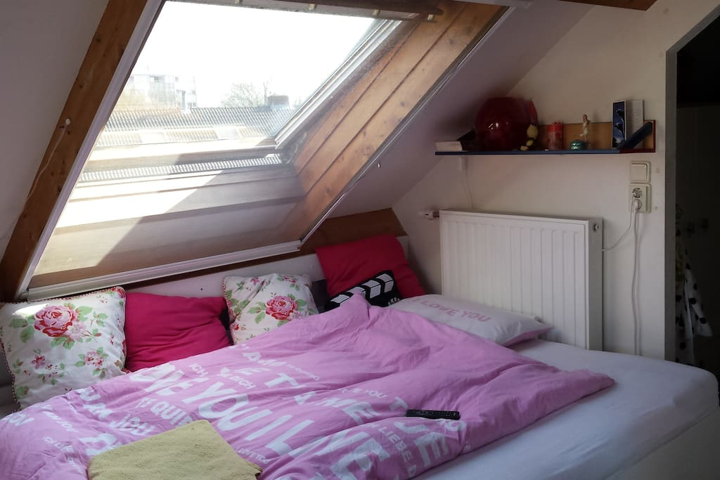 Double bed (160X200) on second floor