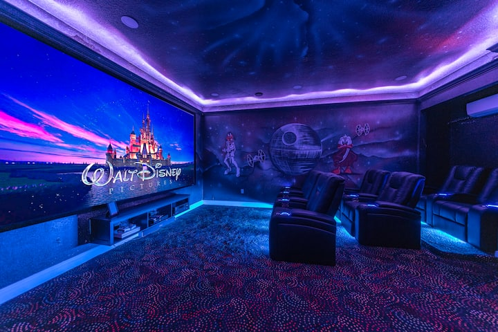 High End Luxury Pool Home w/Theater & Themed Rooms