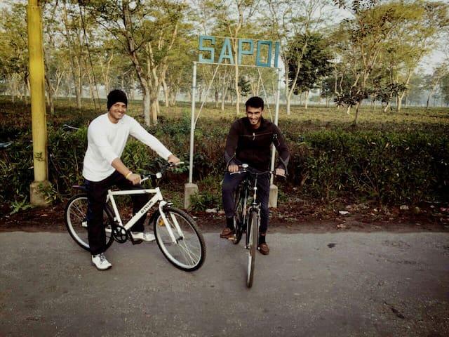 Cycling @ Sapoi
