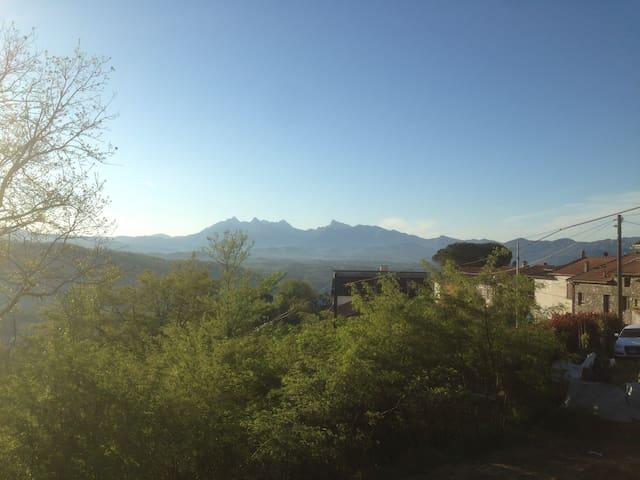 Lunigiana, Toscana, tranquillo e sereno TRILOCALE - Tresana - 度假屋