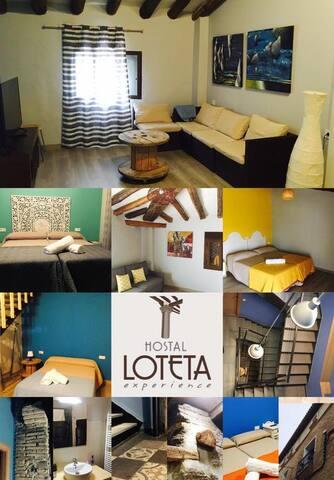 Hostal Loteta experience