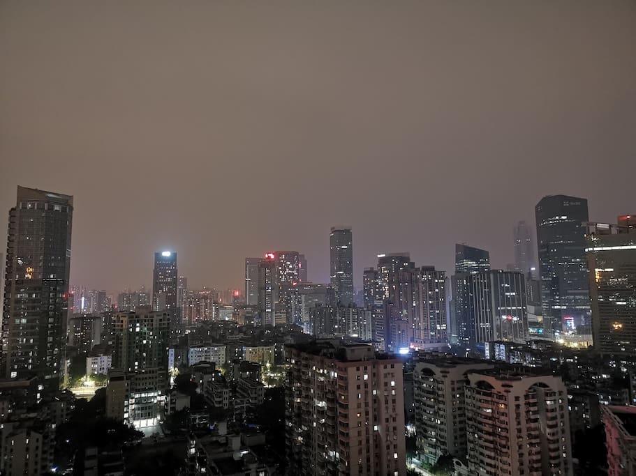 谢谢住客入住期间拍摄的夜景照片