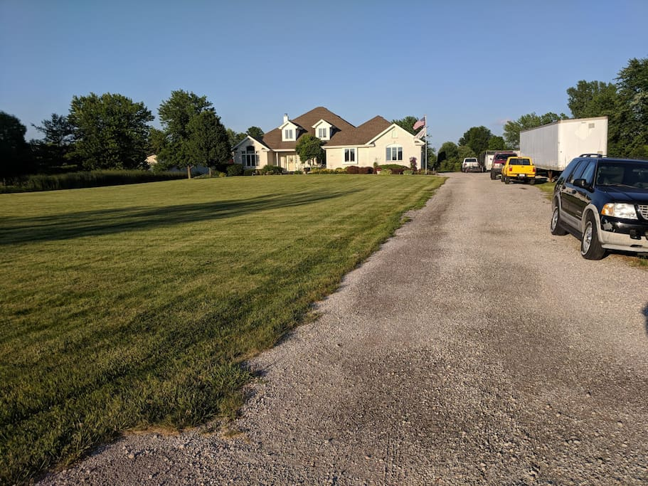 Drive-Way to the property