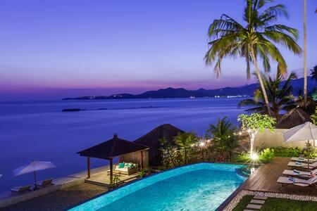 INDVNBA408 - Beachfront Luxury Villa - Manggis