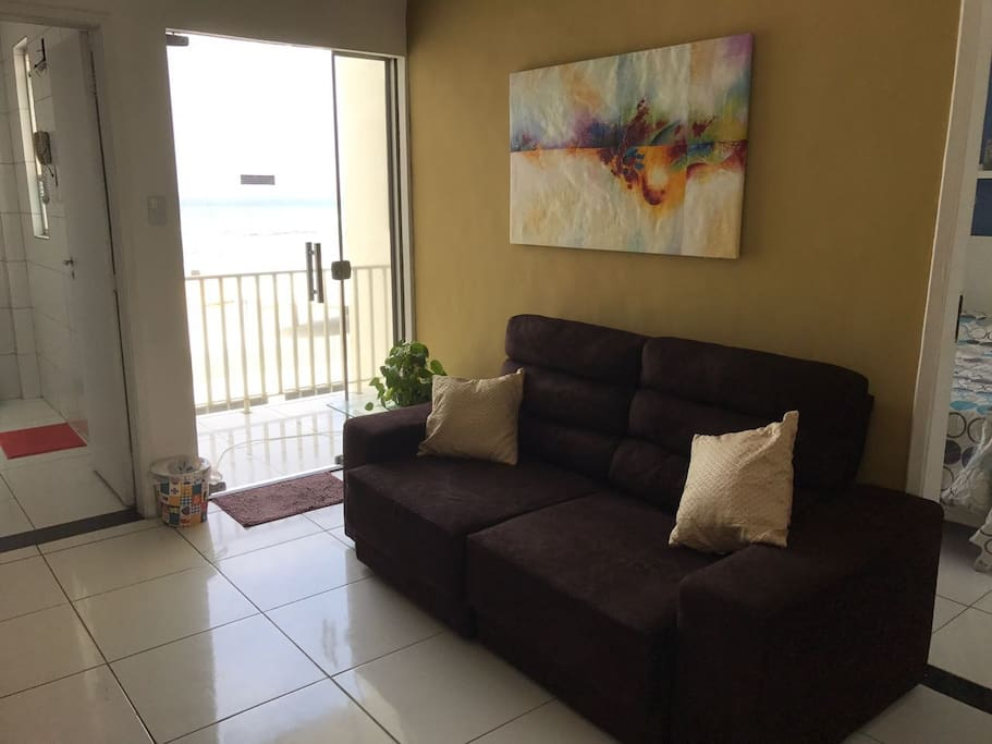 Sala - Área de estar e varanda