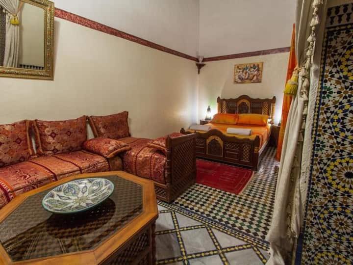 Chambre Quintuple Superieure at Riad Meski