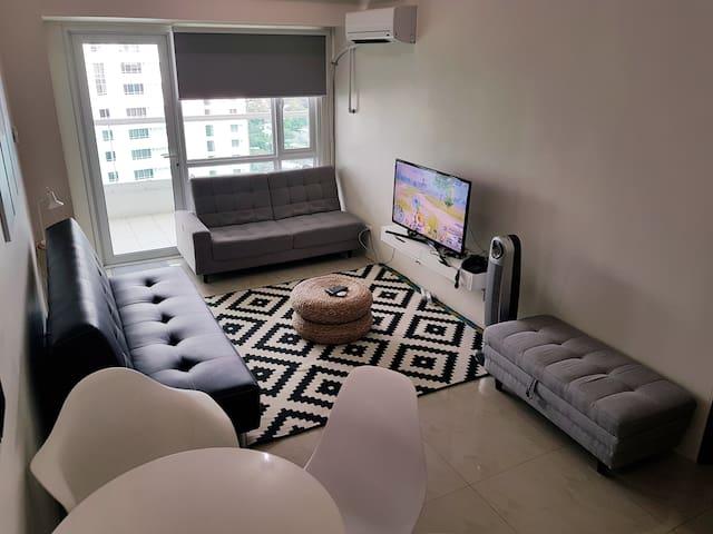 1 Bedroom Condo with huge balcony - Best location