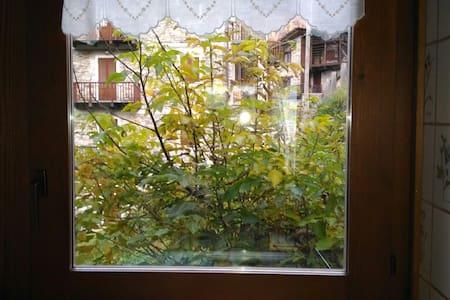 Nutshell stanza  baita Valsesia - Riva Valdobbia - บ้าน