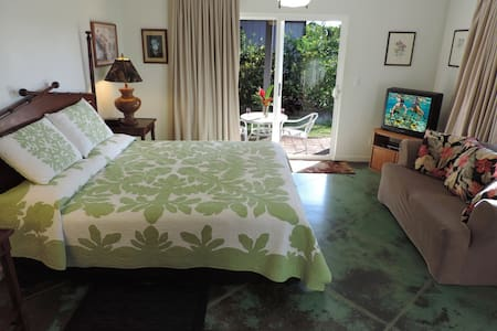 Seaside Studio Suite - Close to Poipu Beach Park - Koloa