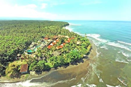 Beachfront Balinese Cottage