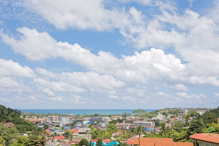 1 bedroom seaview apartment - Karon/ kata, Phuket
