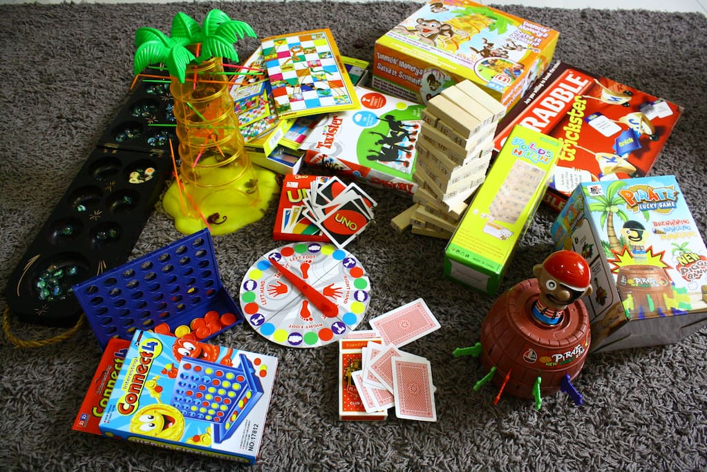 List of board games and card for Entertainment
