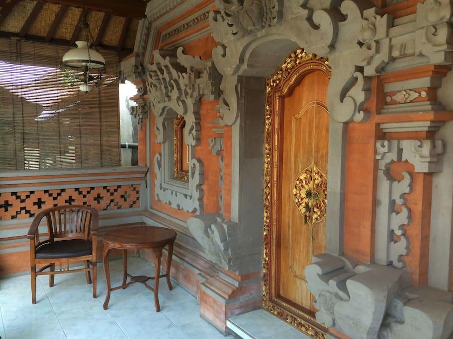 Beautiful Balinese architecture awaits!