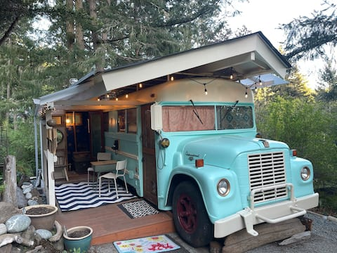 One of a kind converted 1969 School Bus