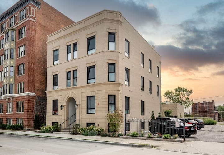 Urban Chic Condo in the Heart of Brush Park