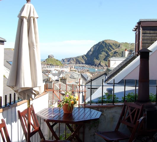 Double 2-room Seaview Suite in 'Foodie' Fore St - Ilfracombe - Pensió