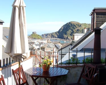 Double 2-room Seaview Suite in 'Foodie' Fore St - Ilfracombe - Guesthouse