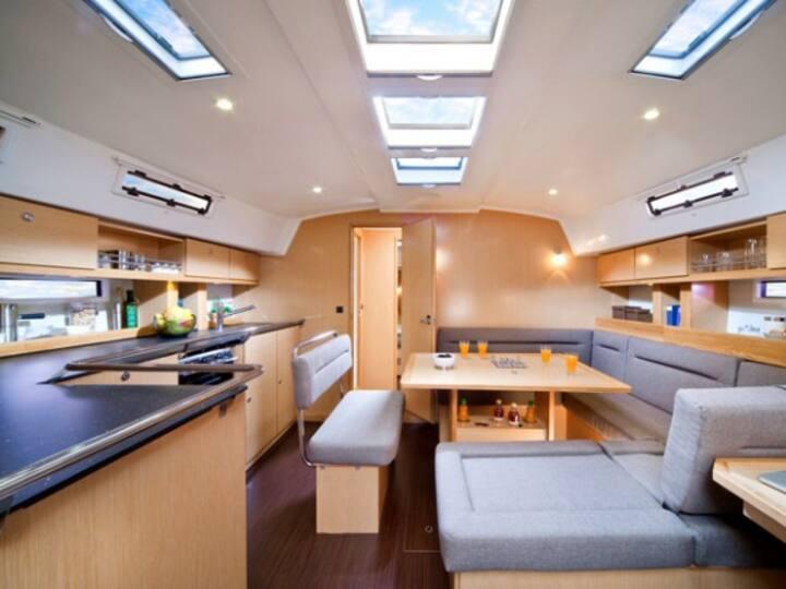 wunderbare  FeWO/ Yacht mit Blick auf Usedom