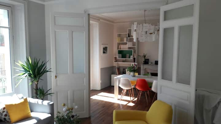 Appartement 100m2 plein centre, charme et confort