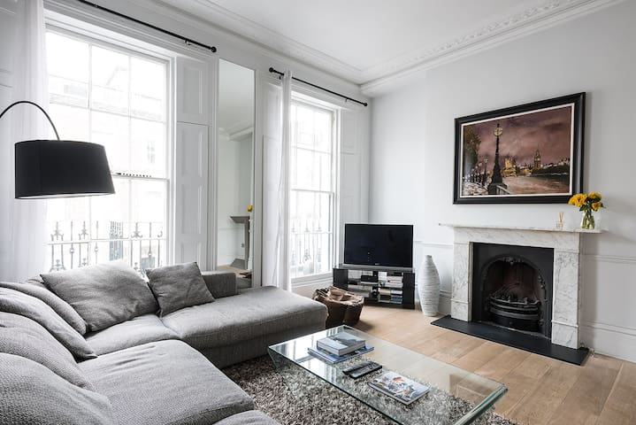 Charming 1BR in Victoria Central London - London - Apartment