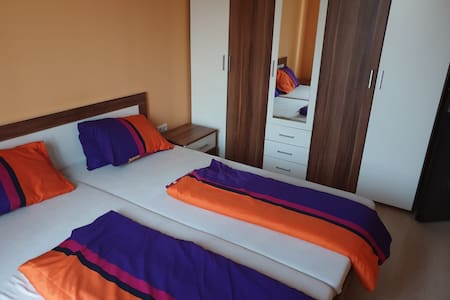 Beautiful room with king size bed near Bratislava