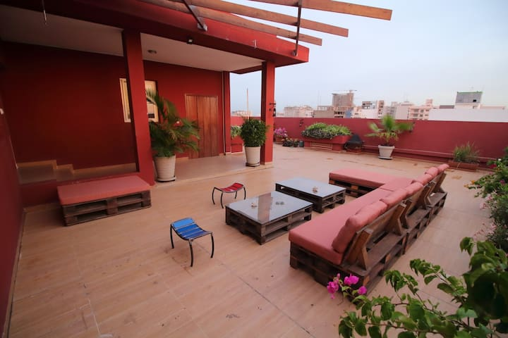 The very large terrace 2