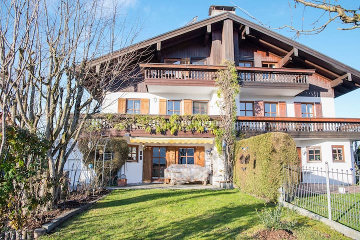 "Cosy Holiday Apartment ""Alpenblick"" with Balcony, Terrace & Wi-Fi; Parking Available"