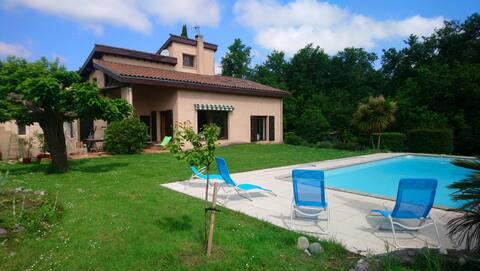 2 Chambres dans villa - chez Doms