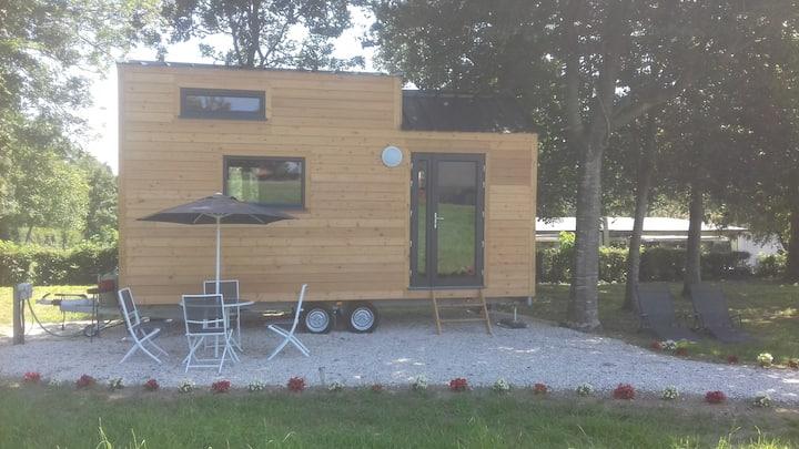 location insolite  tiny house de l'aa avec jacuzzi
