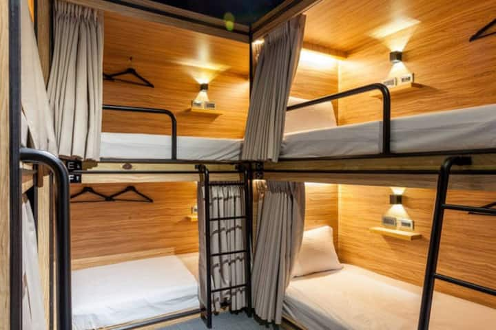 Male Dorm / close to Taipei Stn and Ximen