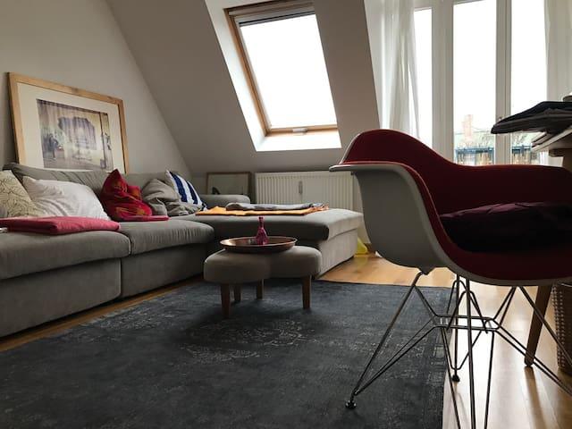 zentrale DG Familien Wohnung Balkon - Leipzig - House