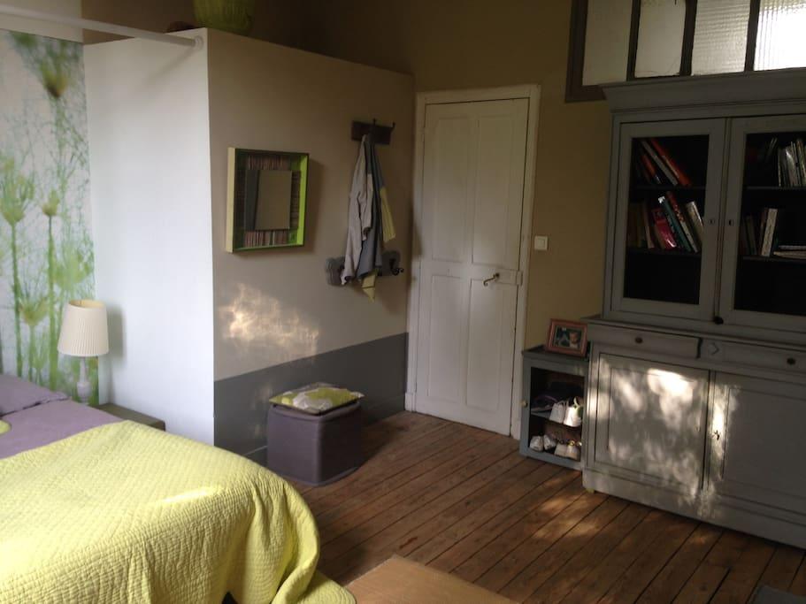 Chambre15m2 vue sur jardin calme 12mn de paris maisons - Location maison jardin ile de france colombes ...