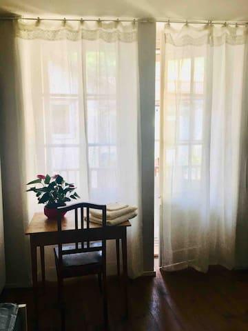 Schöne Wohnung mit Balkon im Stadtzentrum