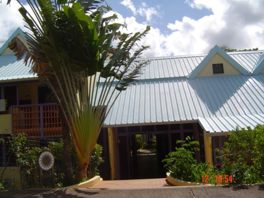 Entrée Résidence Tobago