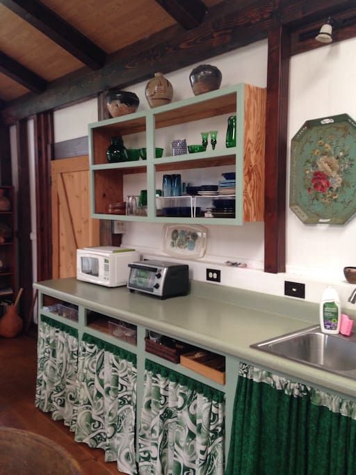 Galley kitchen!