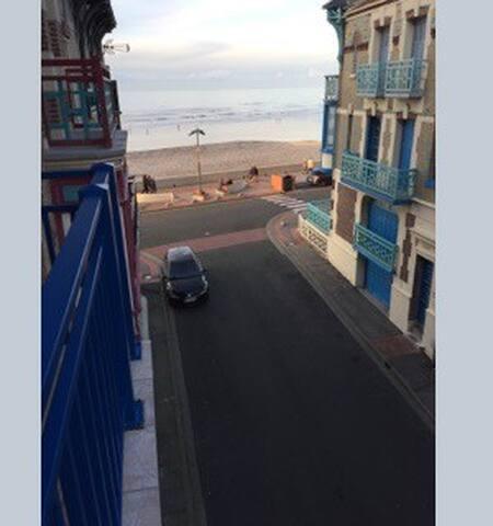 Appartement Mers les Bains avec vue sur mer