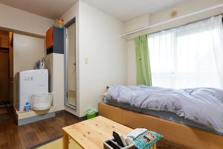10 mins from Shinagawa Sta. +WiFi! - Apartment