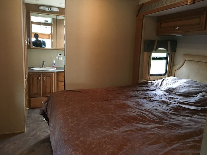Beautiful Class A RV available in Black Hills