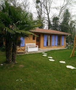 La maison du jardin, proche Paris - Hus