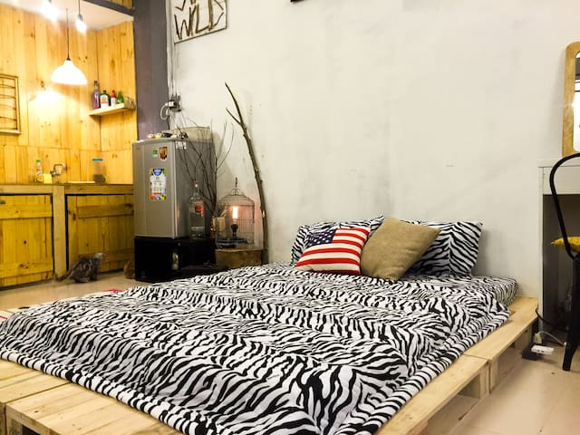 SG Home Stay Wild-Dist 1-SaiGonCenter-1Bed-3Person - Ho Chi Minh City - Apartment
